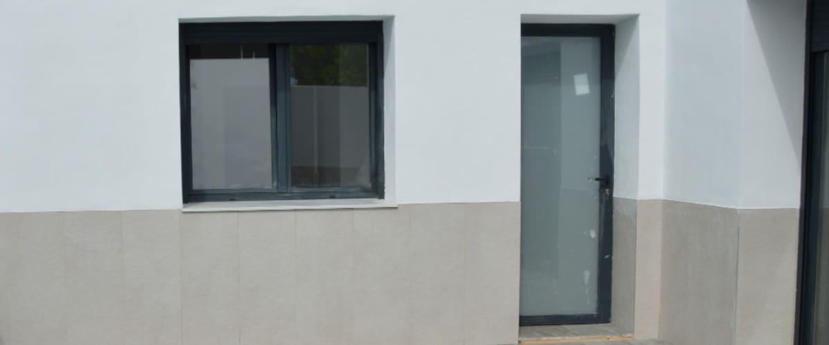 Fotografía de una obra. Arquefi construccion Villena - constructor - albañil - Villena - reformas - arquitecto - puente termico